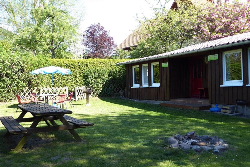 Kleines Ferienhaus Garten