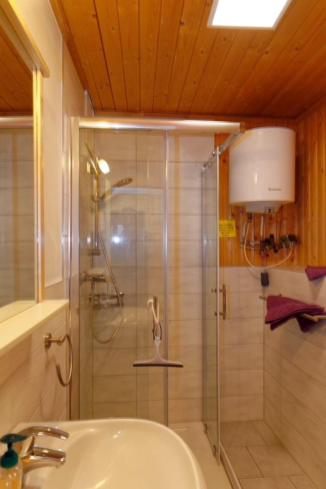 Kleines Ferienhaus Badezimmer