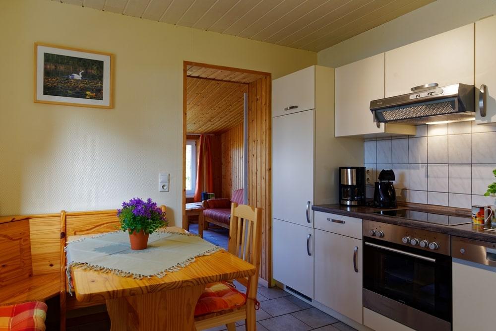Kleines Ferienhaus Küche