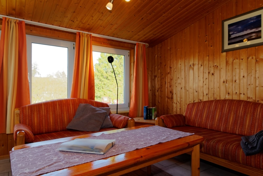 Kleines Ferienhaus Schlafzimmer